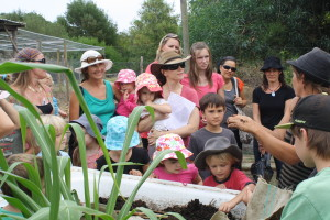 Cape to Cape Homeschooling Group Visits the Farm