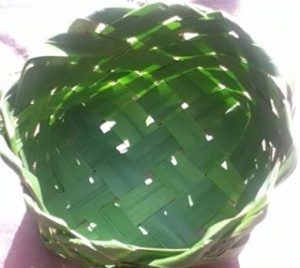 A Plaited Basket made by Cynamon